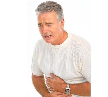 Causes of Diarrhea - Man in Pain