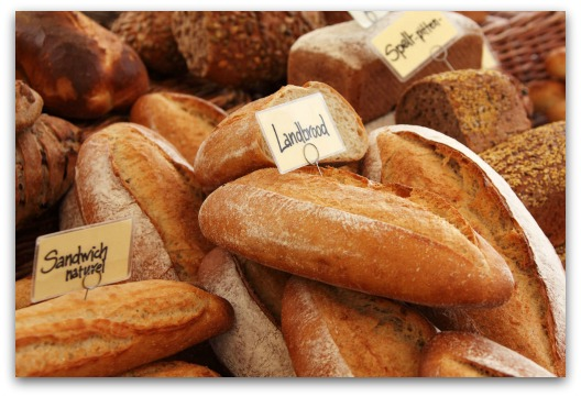 Celiac Disease Symptoms - Different Loaves of Bread