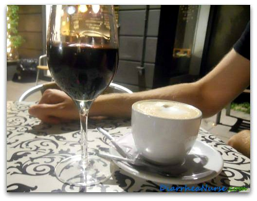 Diarrhea After Drinking - Wine and Coffee in Barcelona