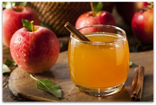 Diarrhea Remedy - Glass of Apple Cider Vinegar