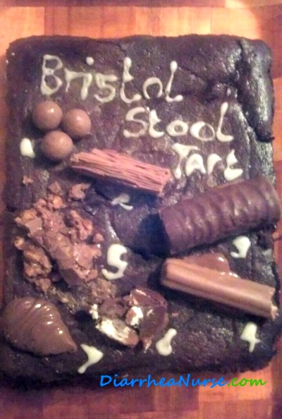 Diarrhea Symptoms - Bristol Stool Tart