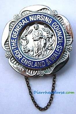 Diarrhea Nurse - General Nursing Badge