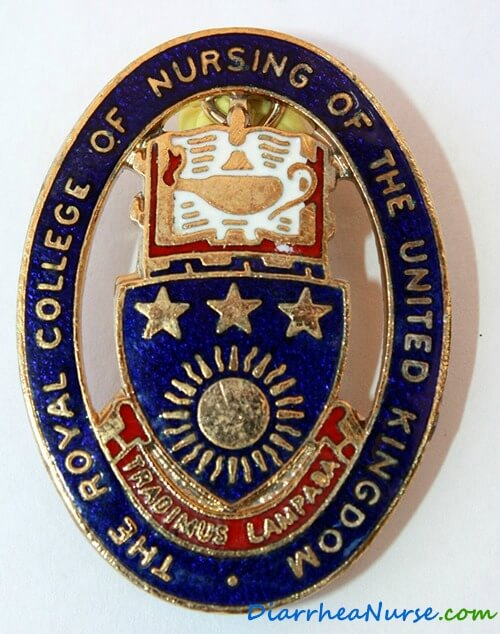 Diarrhea Nurse - RCN badge