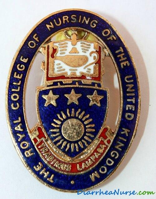 Diarrhea Nurse - RCN badge