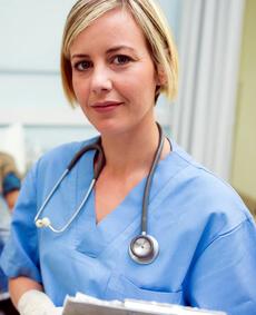 Diarrheanurse - Nurse with Stethoscope