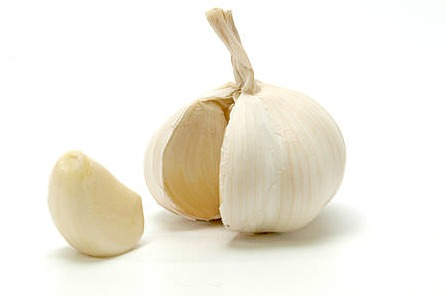 Gluten Sensitivity Symptoms - Garlic Bulb with Detached Clove