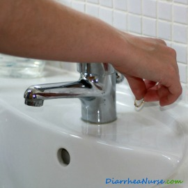Removing Jewellery Before Washing Hands