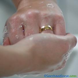 How to Wash Hands - Washing Backs of Fingers