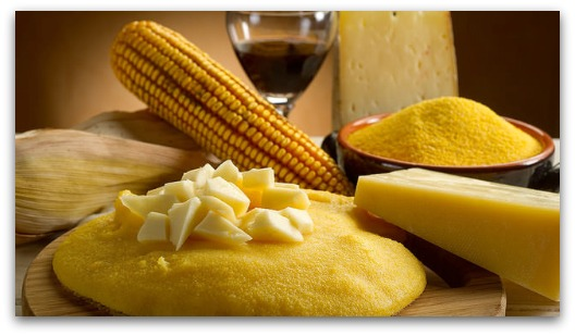 Celiac Disease Treatment - Polenta and Cheese
