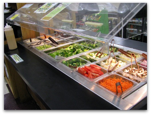 Celiac Disease Treatment - Salad Bar