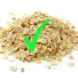 Oats with Green Tick