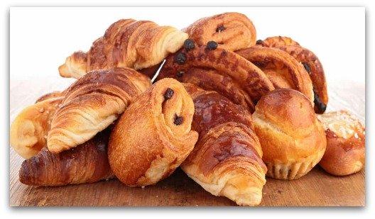 Gluten Sensitivity Symptoms - French Pastries