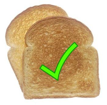 Stomach Flu Treament - Toast