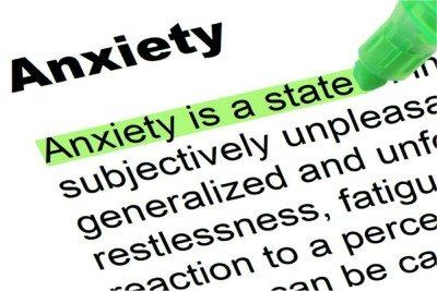 Yellow Diarrhea - Highlighted Dictionary Definition of Anxiety